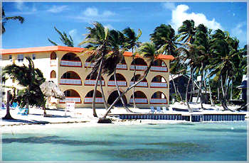 Banana Beach is a beautiful resort on the shores of the Caribbean in Belize, nestled on  the best stretch of Beach on Ambergris Caye, Belize.