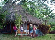One of our exotic cabañas