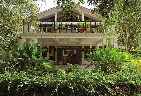 front view of Kaana Resort, San Ignacio, Cayo, Belize