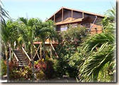 A private beachfront villa for vacation rental in San Pedro on the tropical island of Ambergris Caye, Belize